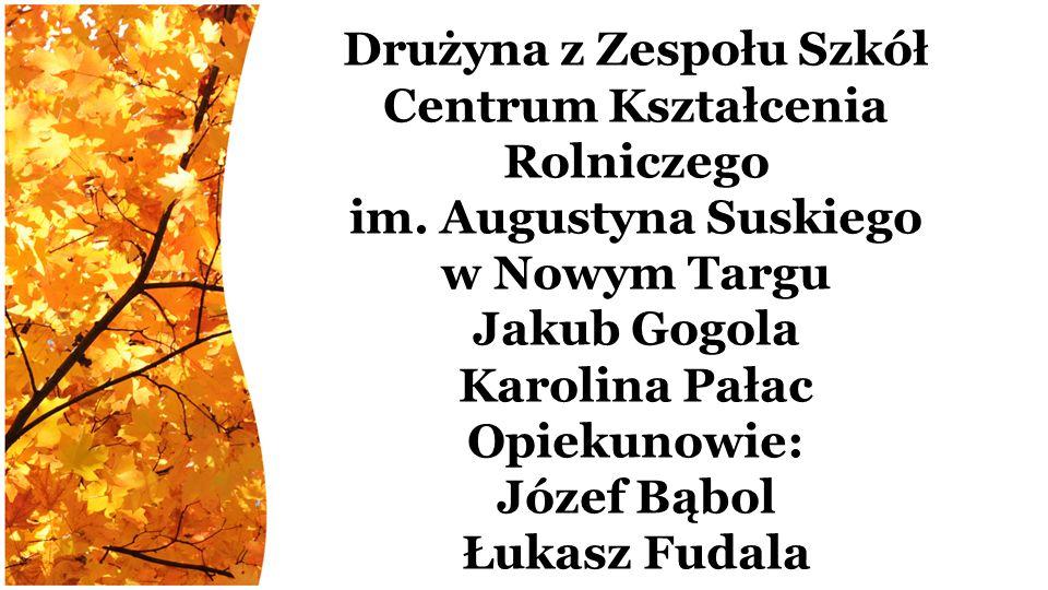 Drużyna z Zespołu Szkół Centrum Kształcenia Rolniczego im.
