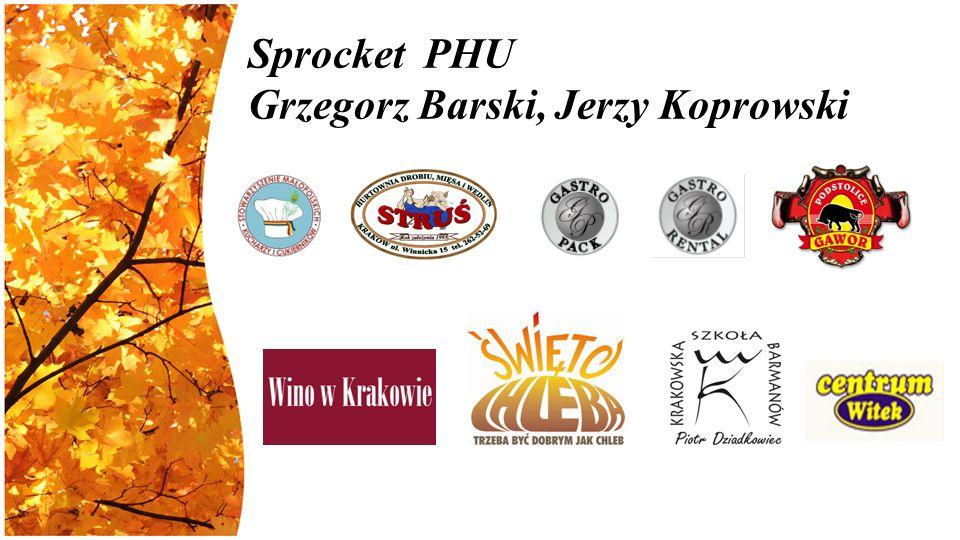Sprocket PHU Grzegorz Barski, Jerzy Koprowski