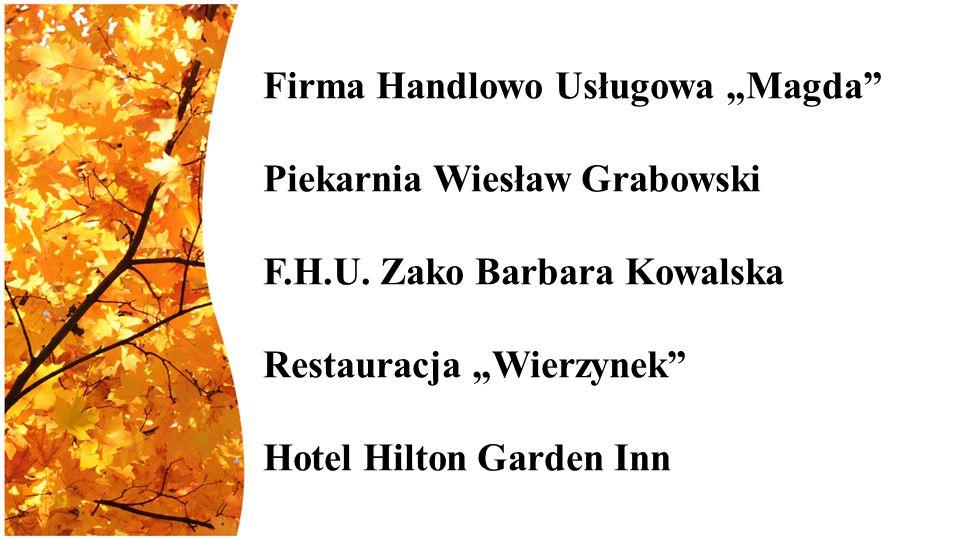 """Firma Handlowo Usługowa """"Magda Piekarnia Wiesław Grabowski F.H.U."""