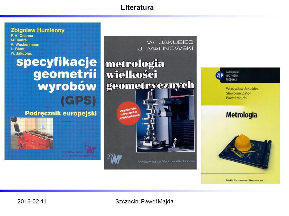 2016-02-11Szczecin, Paweł Majda Literatura