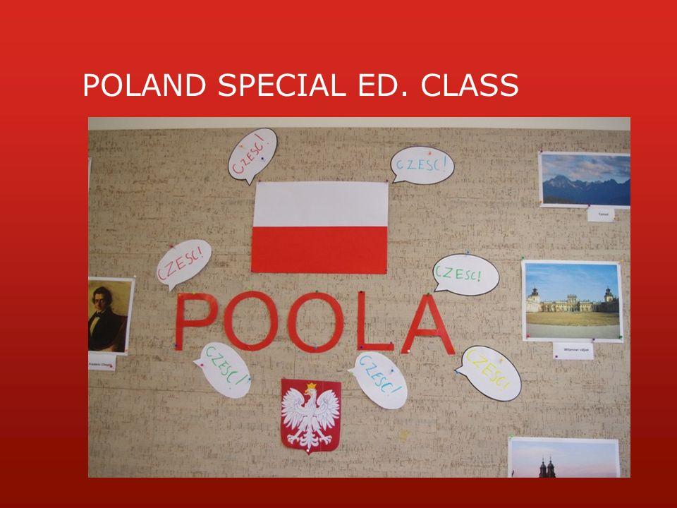 POLAND SPECIAL ED. CLASS