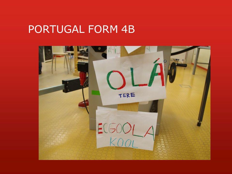 PORTUGAL FORM 4B