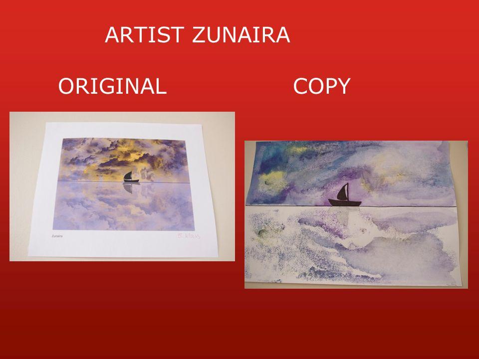 ARTIST ZUNAIRA ORIGINALCOPY