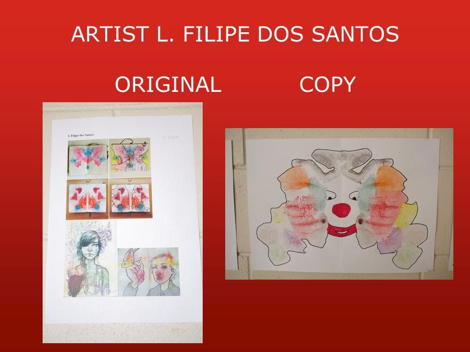 ARTIST L. FILIPE DOS SANTOS ORIGINALCOPY