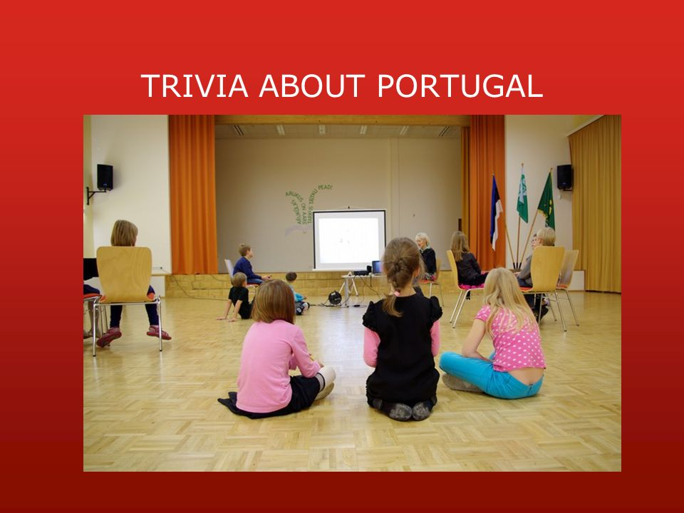 TRIVIA ABOUT PORTUGAL
