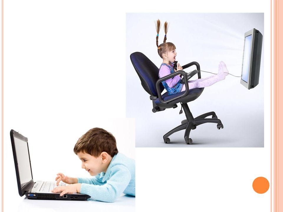 P ONADTO WARTO WPROWADZIĆ W ŻYCIE KILKA ZASAD : Unikaj ustawiania komputera w pokoju dziecka.
