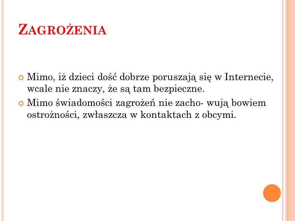 Z AGROŻENIA C.D.