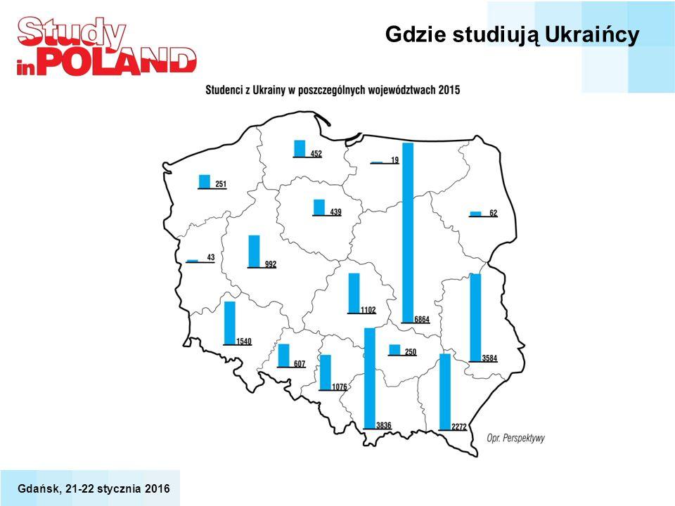Gdzie studiują Ukraińcy Gdańsk, 21-22 stycznia 2016