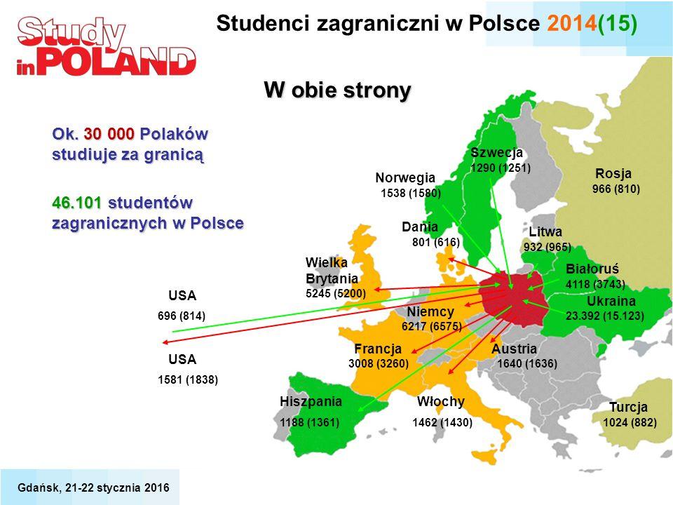 3008 (3260) Francja Dania Wielka Brytania USA Niemcy 1462 (1430) Włochy Austria 1640 (1636) Ukraina Białoruś Norwegia Szwecja Litwa Hiszpania USA W ob