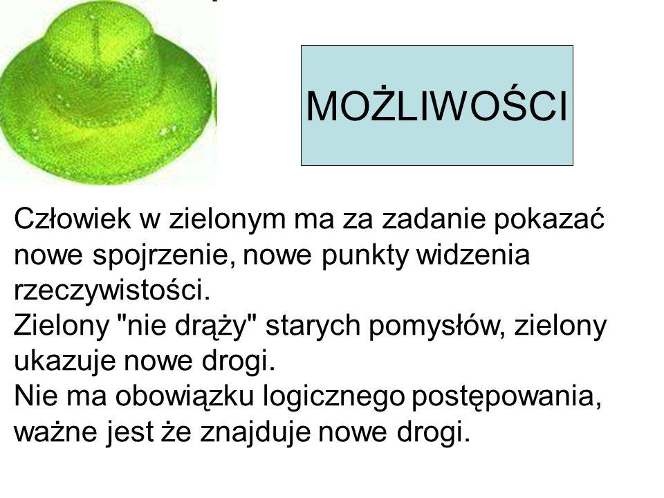 ORGANIZACJA Chłodny bezstronny obserwator.