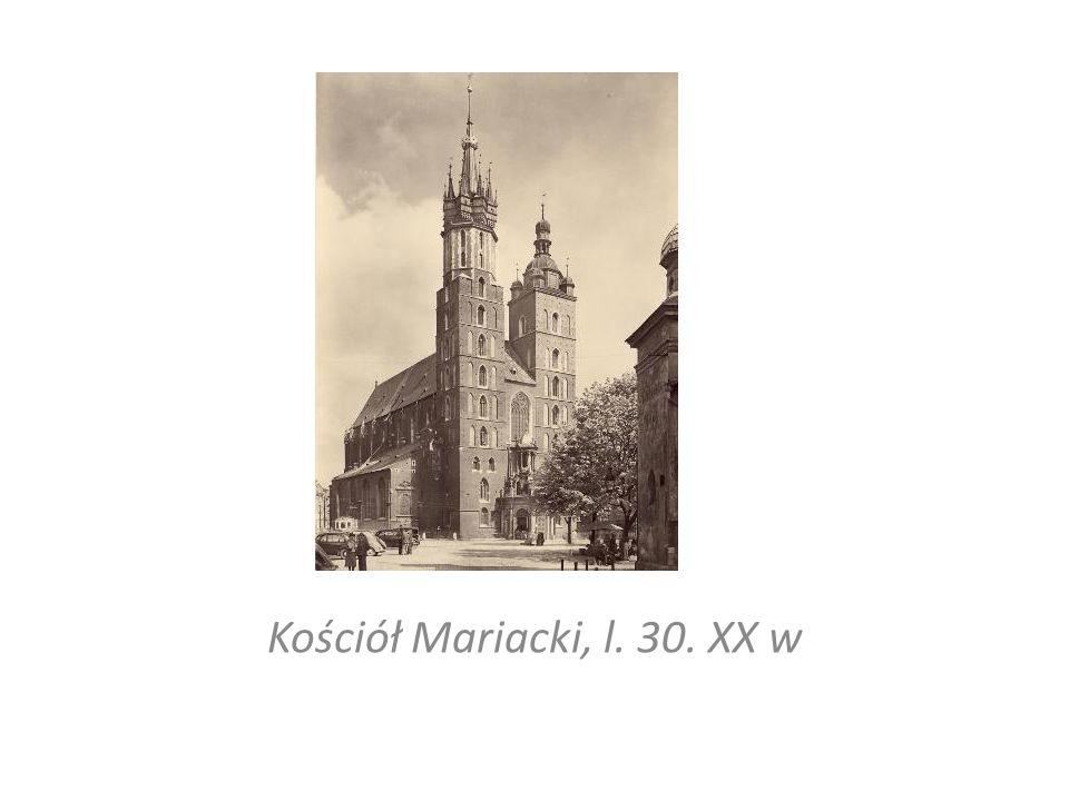 Kościół Mariacki, l. 30. XX w