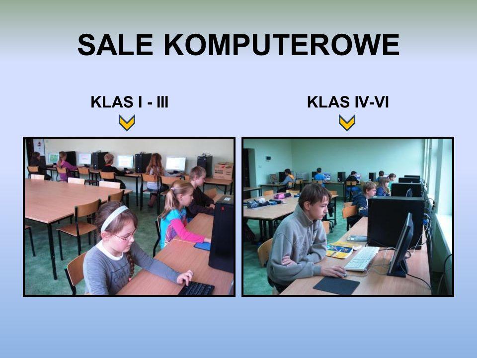 SALE KOMPUTEROWE KLAS I - IIIKLAS IV-VI