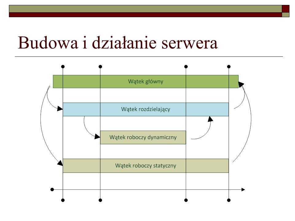 Budowa i działanie serwera