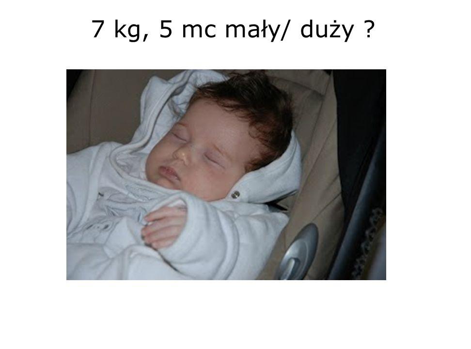 7 kg, 5 mc mały/ duży 28