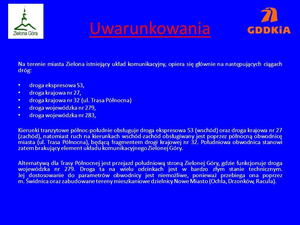 Skrzyżowanie DK27/DW282 (gm. Świdnica) wg. Wariantu III