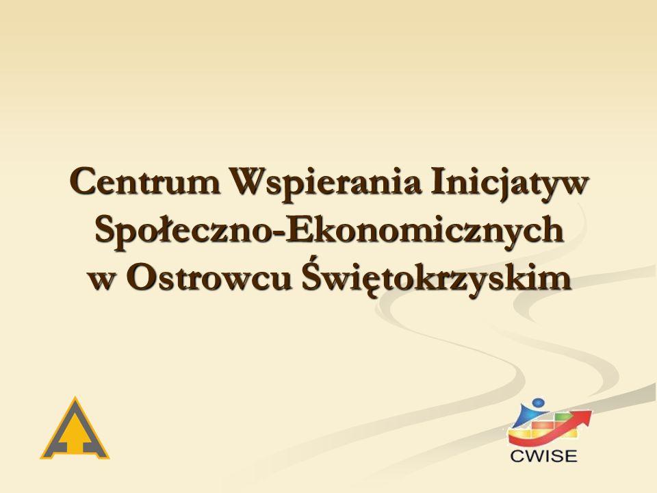 Centrum Wspierania Inicjatyw Społeczno-Ekonomicznych w Ostrowcu Świętokrzyskim
