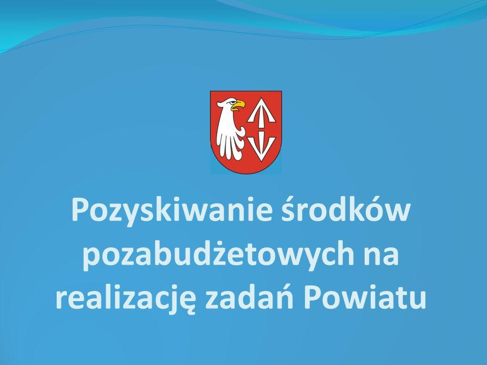 Pozyskiwanie środków pozabudżetowych na realizację zadań Powiatu
