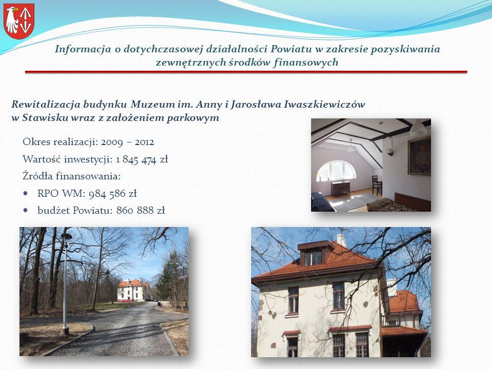 Rewitalizacja budynku Muzeum im.