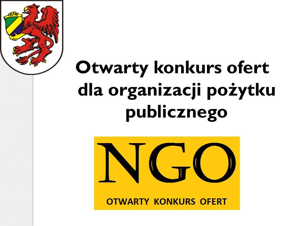 Otwarty konkurs ofert dla organizacji pożytku publicznego