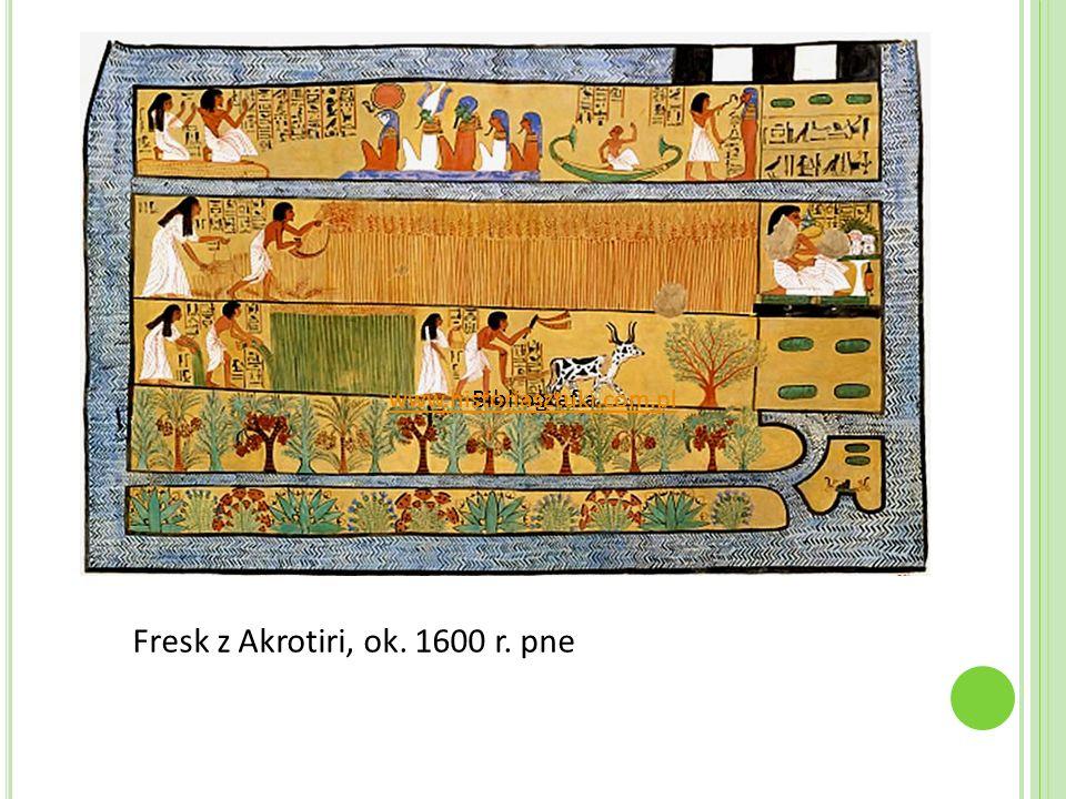 Fresk z Akrotiri, ok. 1600 r. pne Bibliografiawww.historiasztuki.com.pl