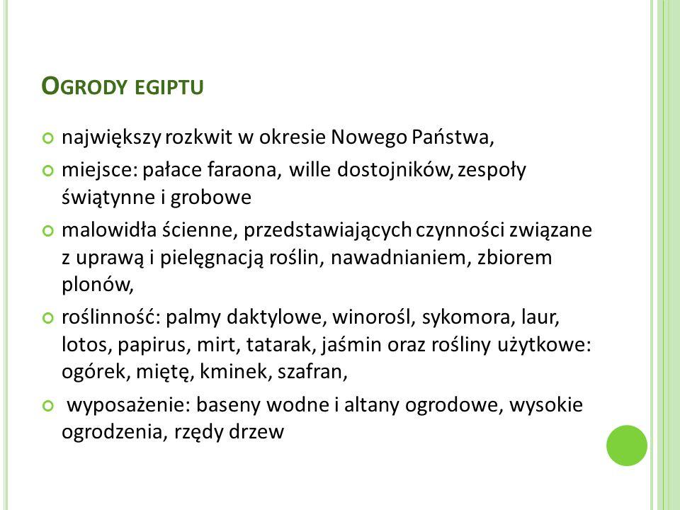 B IBLIOGRAFIA E.Gadomska, A.Różańska, D. Sikora: Podstawy architektury krajobrazu.