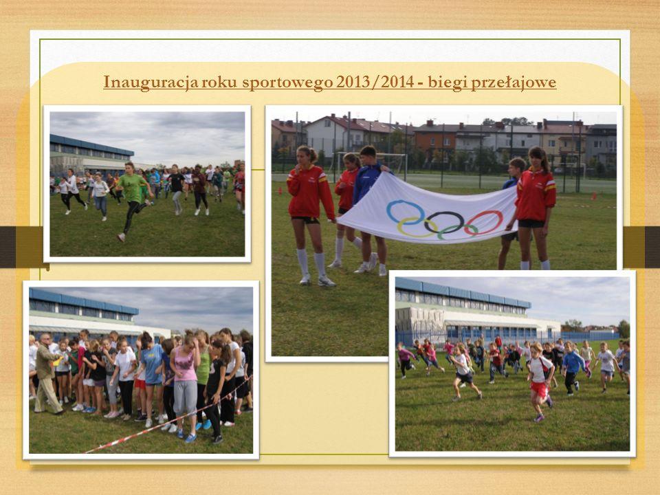 Inauguracja roku sportowego 2013/2014 - biegi przełajowe