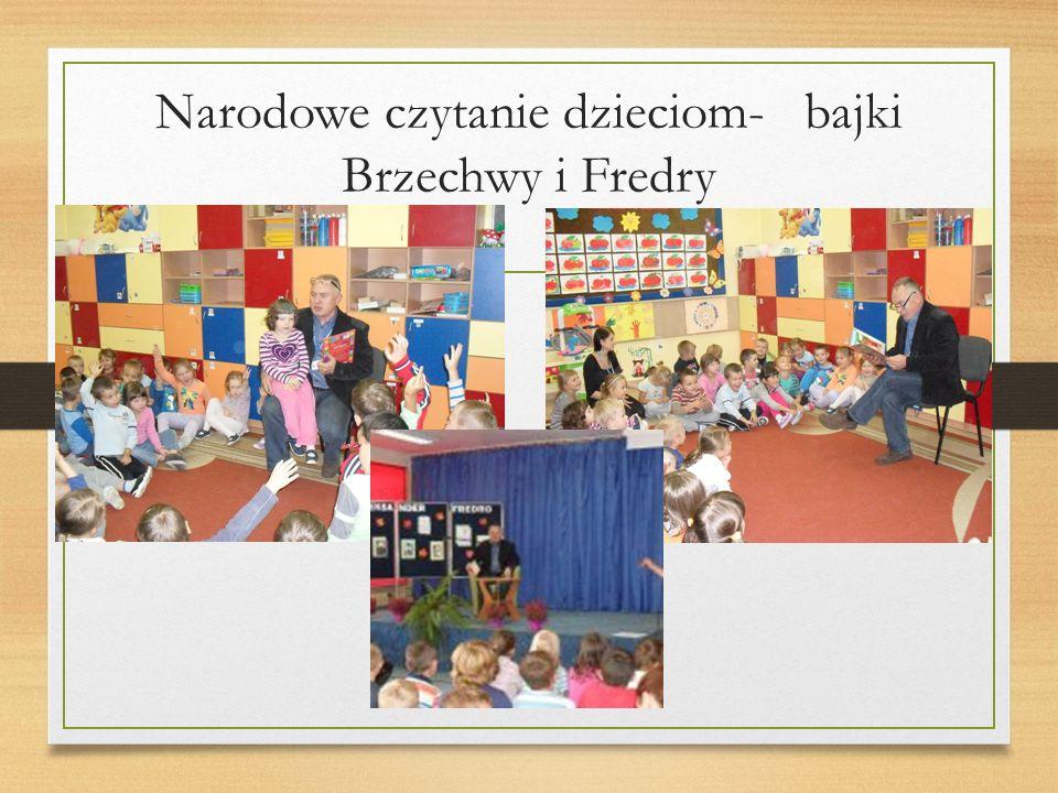 Narodowe czytanie dzieciom- bajki Brzechwy i Fredry