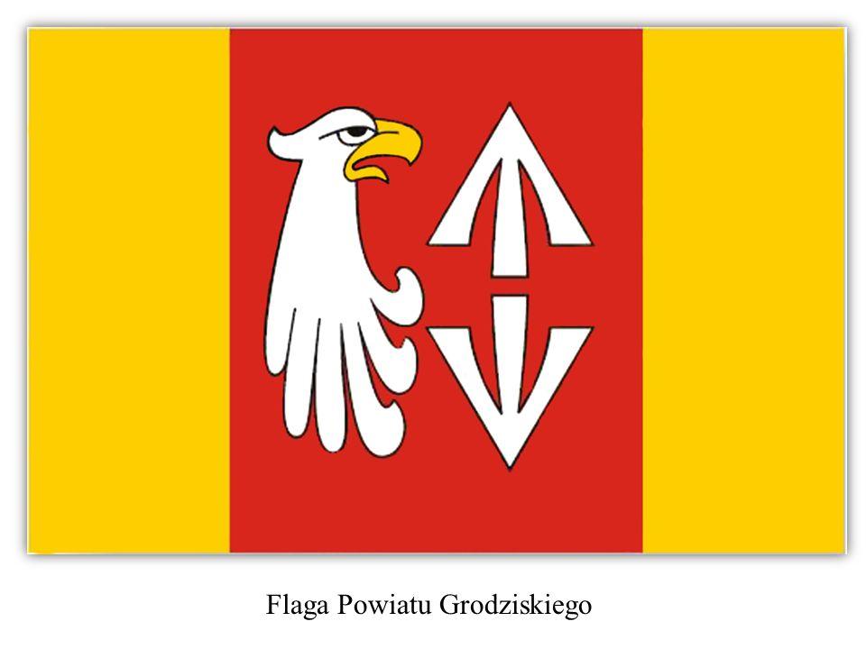 Flaga Powiatu Grodziskiego