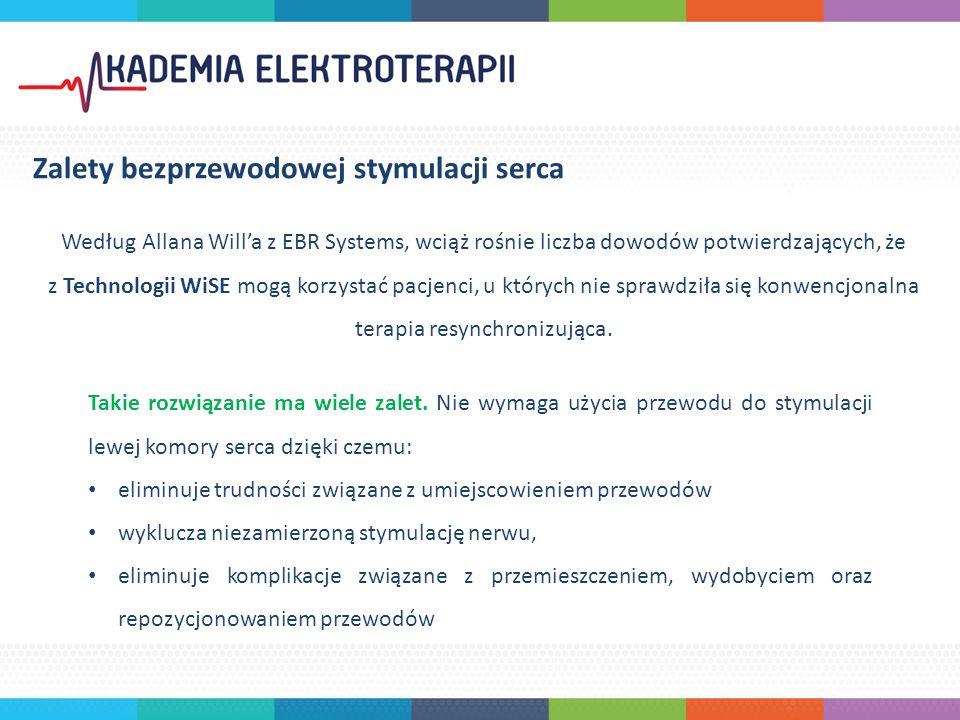 W czerwcu 2015 roku, Technologia WiSE została zwycięzcą konkursu na Ulubioną Innowację kongresu EHRA EUROPACE - CARDIOSTIM w Mediolanie.