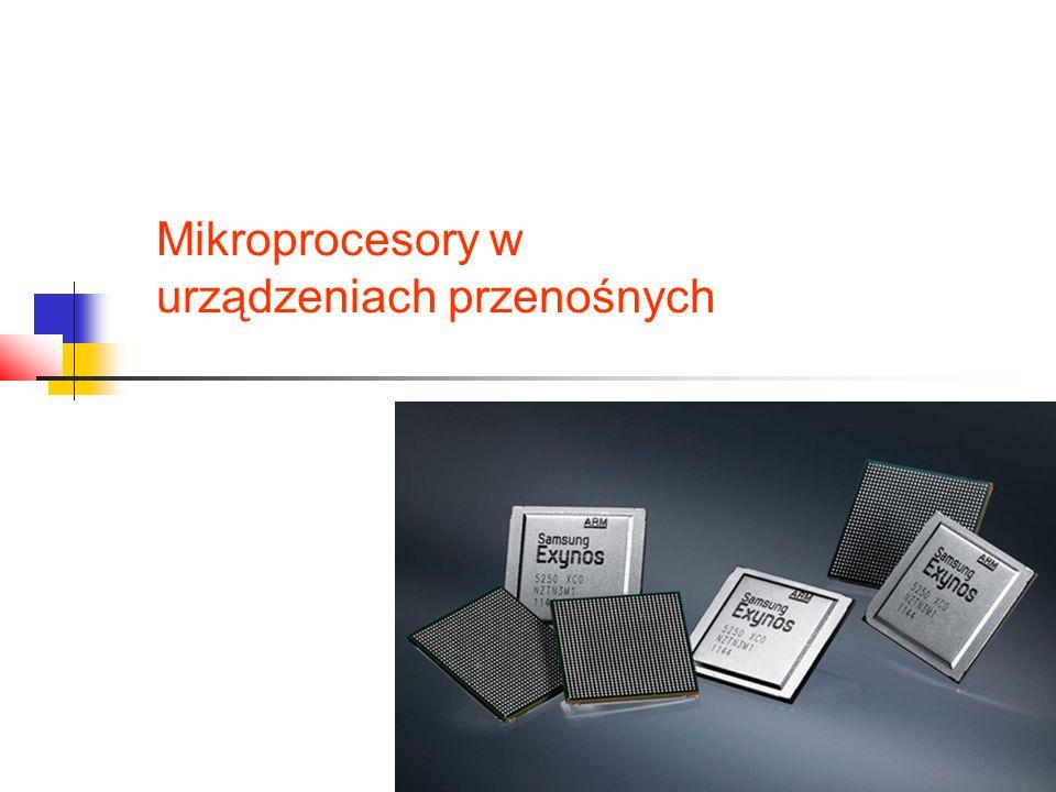 Mikroprocesory w urządzeniach przenośnych