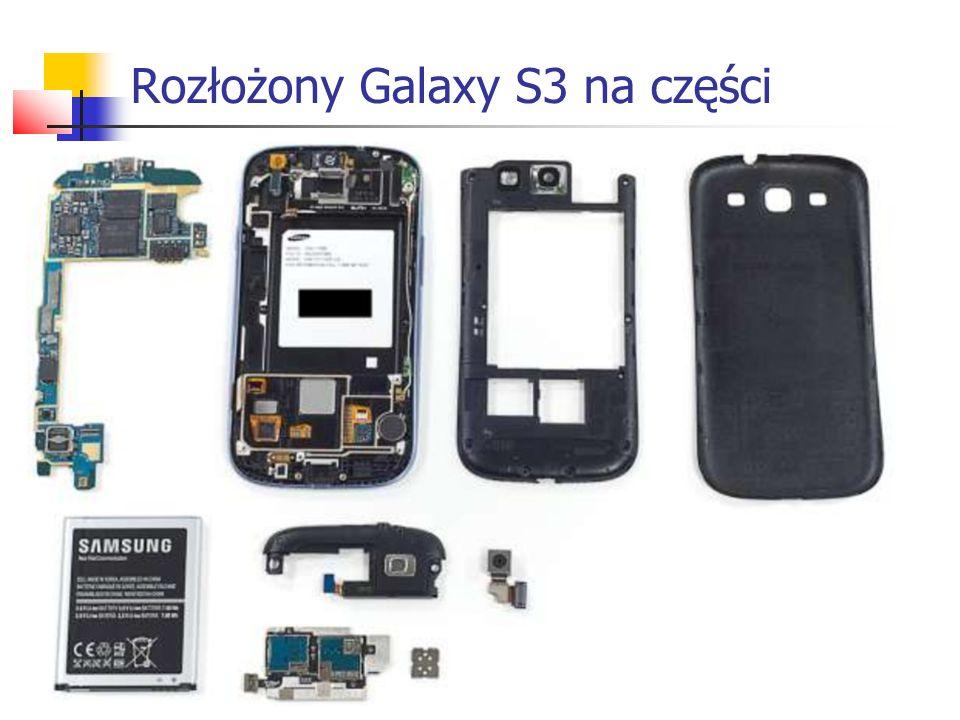 Rozłożony Galaxy S3 na części