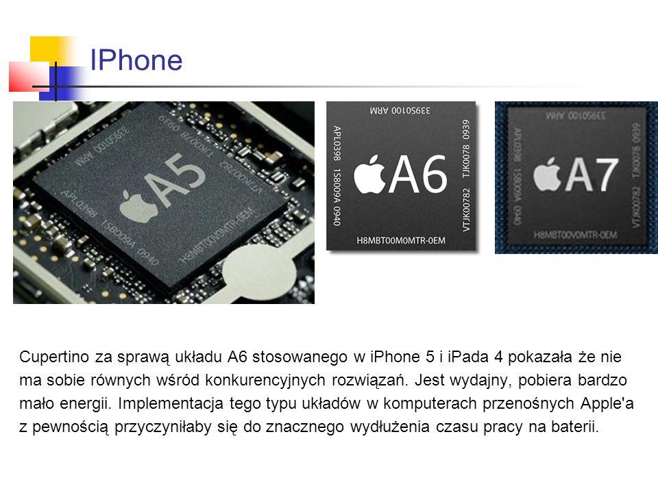 IPhone Cupertino za sprawą układu A6 stosowanego w iPhone 5 i iPada 4 pokazała że nie ma sobie równych wśród konkurencyjnych rozwiązań.