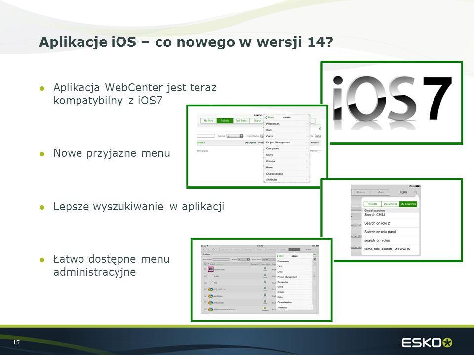 15 Aplikacje iOS – co nowego w wersji 14.