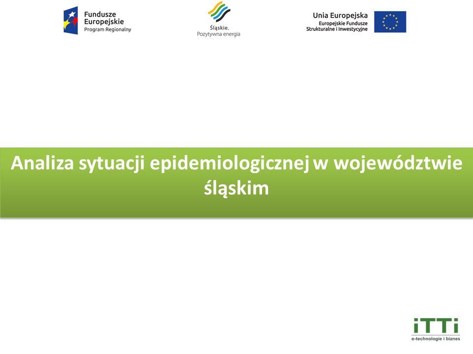 Analiza sytuacji epidemiologicznej w województwie śląskim