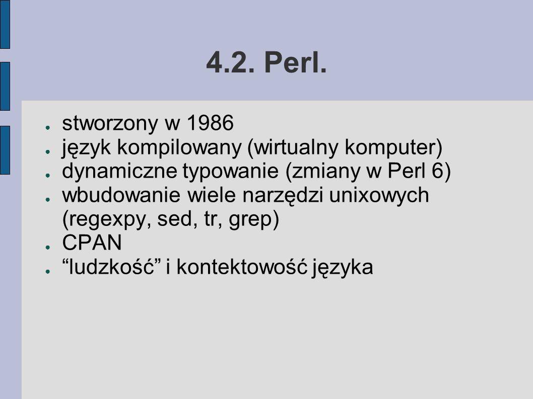 4.2. Perl.