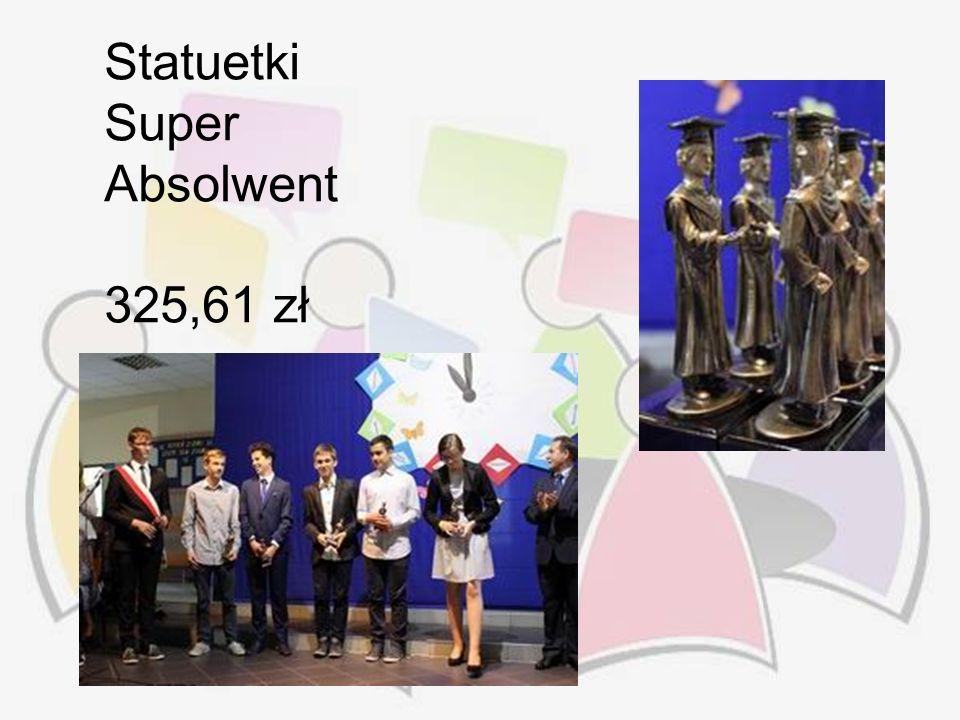 Statuetki Super Absolwent 325,61 zł
