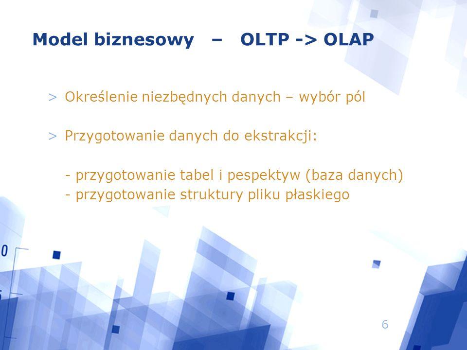 7 MSSQL XLS Struktura transferowa Systemy źródłowe Źródła informacji Struktura komunikacji Reguły transferowe Reguły aktualizacji ODS Kostka OLTP OLAP (SAP BW) Hurtownia danych