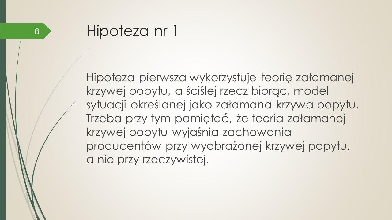 Załamana krzywa popytu Cena, utarg krańcowy, koszt krańcowy P0P0 0 Q A MR DD MR MC Ilość Źródło: http://zarzadzanie-mk.wykład.com/model-załamanej -krzywej-popytu-oligopolu (13.12.2014).http://zarzadzanie-mk.wykład.com/model 9