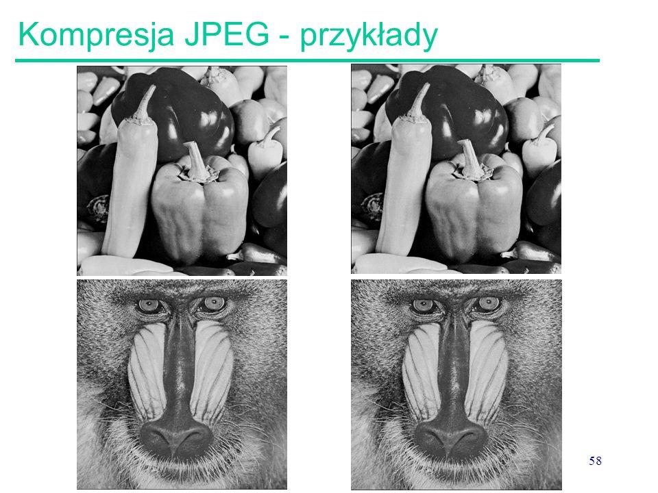 58 Kompresja JPEG - przykłady