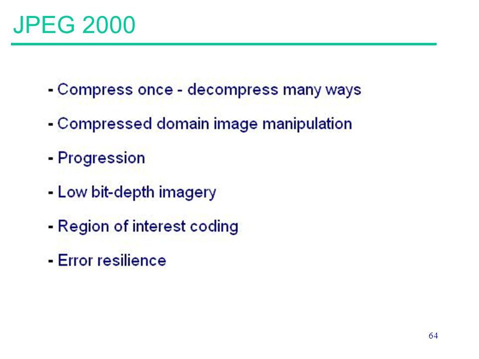 64 JPEG 2000