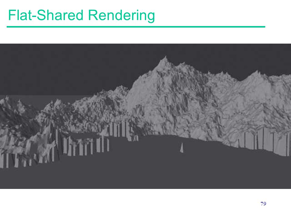 79 Flat-Shared Rendering