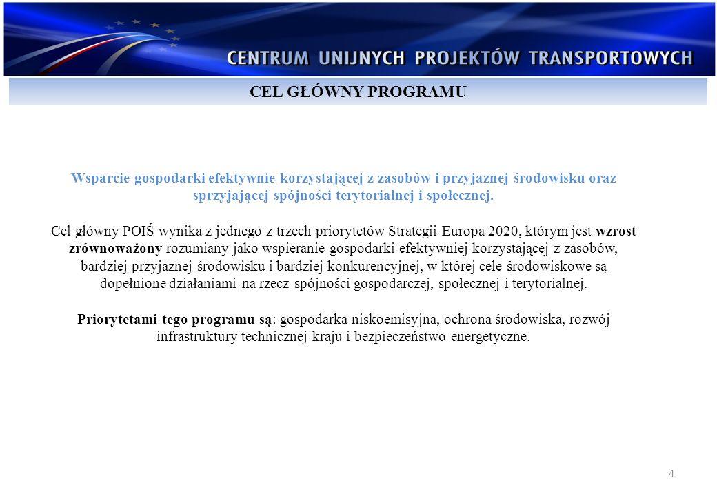 15 prawo do dysponowania gruntem, posiadanie projektu budowlanego, posiadanie PnB oraz dokumentacji przetargowej; (w perspektywie 2007 – 2013 oceniane na podstawie złożonych decyzji administracyjnych i stosownych oświadczeń) komplementarność (z innymi projektami z zakresu infrastruktury transportowej – już zrealizowanymi jak również planowanymi do realizacji); ERR i praca przewozowa (w perspektywie 2007 – 2013 oceniane na podstawie AKK); lokalizacja projektu (w sieci TEN-T, AGTC) – kryterium wyłącznie dla projektów o charakterze infrastrukturalnym; (w perspektywie 2007 – 2013 oceniane na podstawie załączonych do WoD map i opisów).