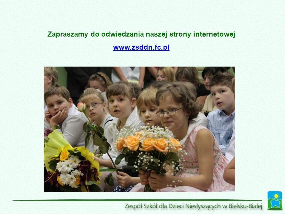 Zapraszamy do odwiedzania naszej strony internetowej www.zsddn.fc.pl
