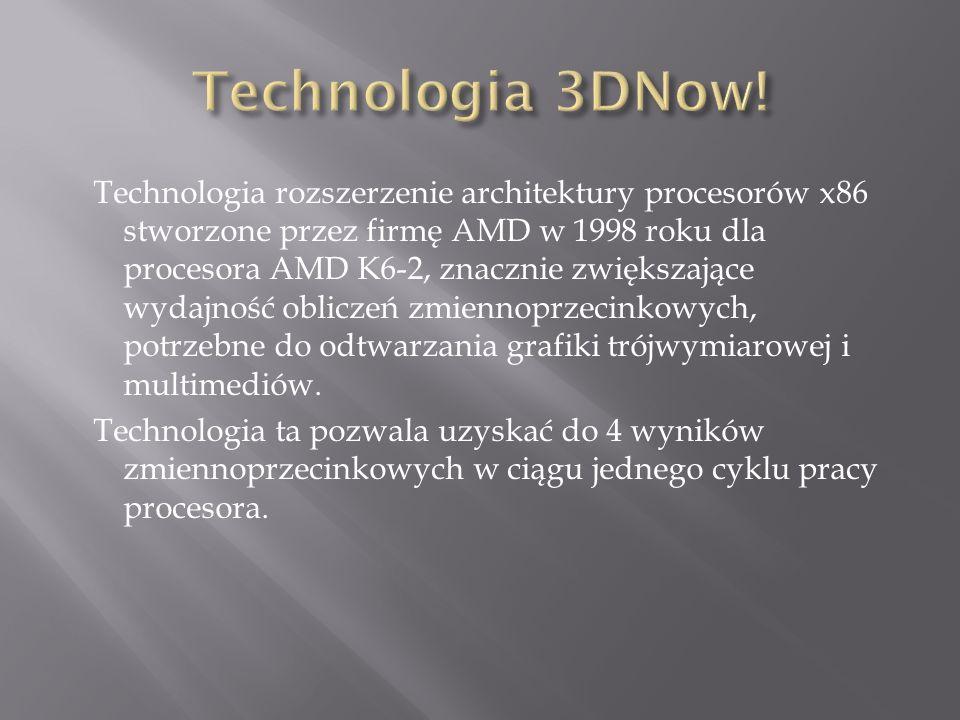 Technologia rozszerzenie architektury procesorów x86 stworzone przez firmę AMD w 1998 roku dla procesora AMD K6-2, znacznie zwiększające wydajność obliczeń zmiennoprzecinkowych, potrzebne do odtwarzania grafiki trójwymiarowej i multimediów.