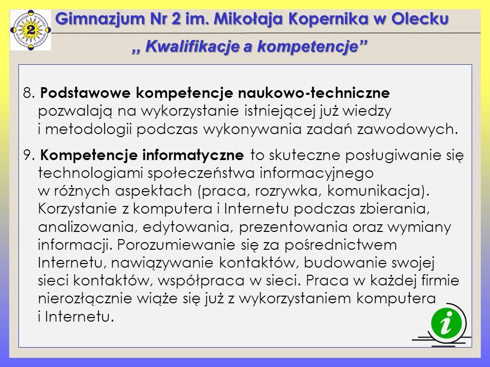 Gimnazjum Nr 2 im.Mikołaja Kopernika w Olecku 8.
