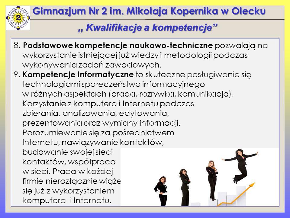 Gimnazjum Nr 2 im. Mikołaja Kopernika w Olecku 8.