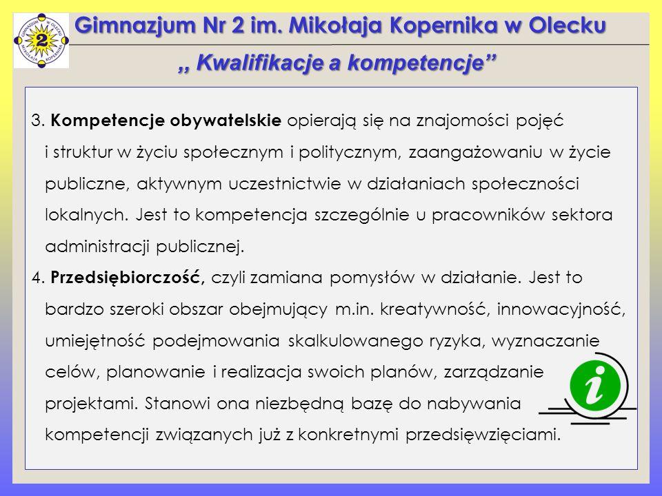 Gimnazjum Nr 2 im.Mikołaja Kopernika w Olecku 3.