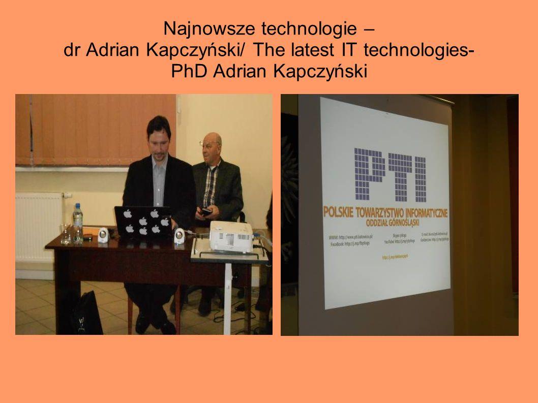 Wykłady – Koło Historyczne/ Lectures in Historical Circle Wykładowcy/ Lecturers: inż.