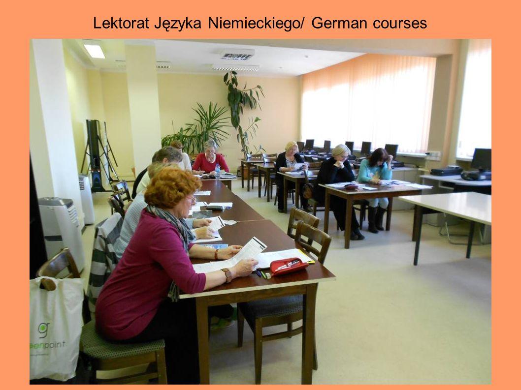 Lektorat Języka Angielskiego/ English courses