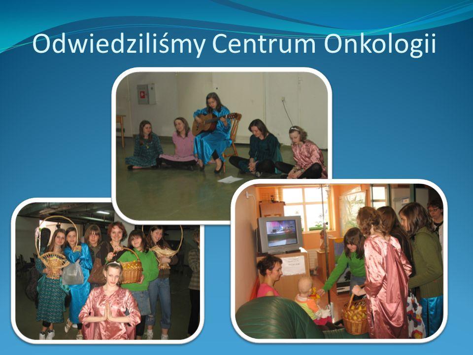 Odwiedziliśmy Centrum Onkologii